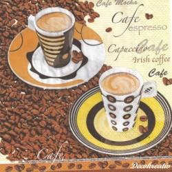Servítka 33x33 cm Coffee...