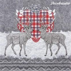 Servítka 33x33 cm Oh Deer