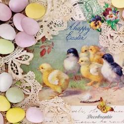 Servítka 33x33 cm Easter...