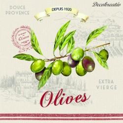 Servítka 33x33 cm Olives -...