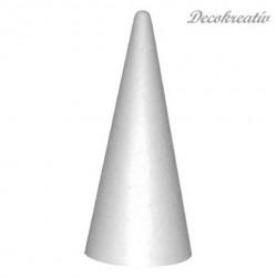 Kužeľ polystyrén, v. 26 cm