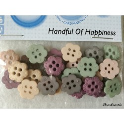 Gombíky Handful of Happiness