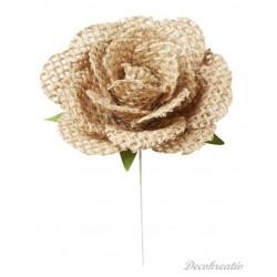 Textilné kvety, 5 cm, 2 ks...
