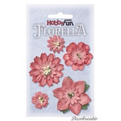 Papierové kvety - hortenzia
