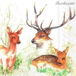 Servítka 33x33 cm Deer Park...