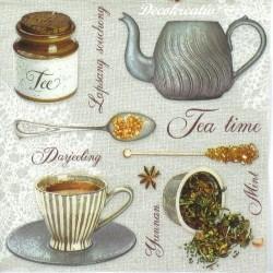 Servítka 33x33 cm Tea Flavours