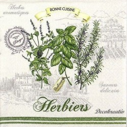 Servítka 33x33 cm Herbiers,...
