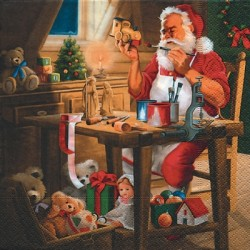 Servítka 33x33 cm, Santas...