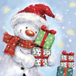 Servítka 33x33 cm Vianočný...