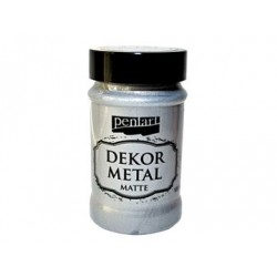 Dekor Metal matná 100 ml -...