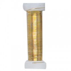 Drôt zlatý 0,6 mm x 18 m