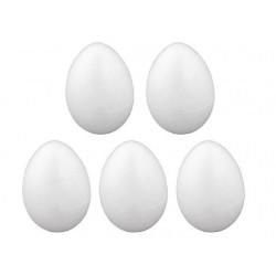 Vajce polystyrénové, v. 6 cm