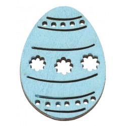 Drevený výrez vajíčko,...