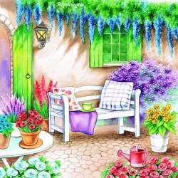 Servítka 33x33 cm Garden Seat