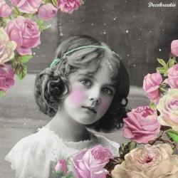 Servítka 33x33 cm Flower Girl