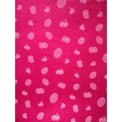 Filc ružový 1 mm, 30 x 40 cm