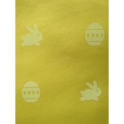 Filc žltý 1 mm, 30 x 40 cm