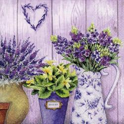 Servítka 33x33 cm Lilac...