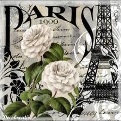 Servítka 33x33 cm Paris
