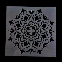 Šablóna plastová, 15 x15 cm
