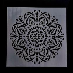 Šablóna plastová, 15 x 15 cm