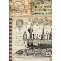 Ryžový papier A4, Voyages...