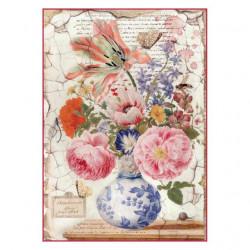 Ryžový papier A4 - Vintage...
