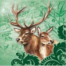Servítka 33 x 33 cm Deer...