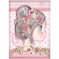 Ryžový papier A4, Fairies -...