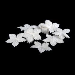 Papierové kvety, biele, 60...