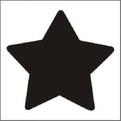 Vysekávačka - hviezda 1,6 cm