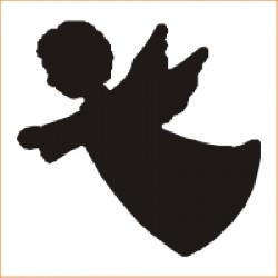 Vysekávačka - anjel 2,5 cm