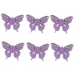 Drevený výrez - motýlik,...