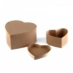 Krabice kartónové srdce -...