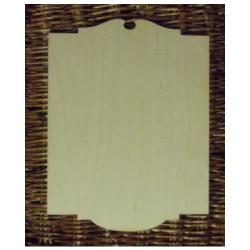Drevená tabuľka 22 x 29 cm