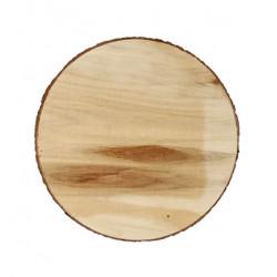 Drevený plát kruh 20 cm