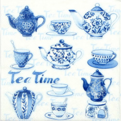 Servítka 33 x 33 cm Tea...