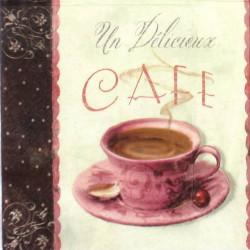 Servítka Coffee Meeting, káva