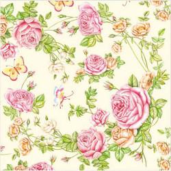 Servítka 33x33 cm, Roses...