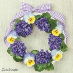 Servítka 33x33 cm Violets...