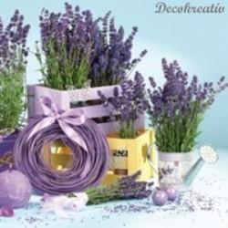 Servítka 33x33 cm Lavender...