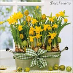 Servítka 33x33 cm Daffodils...