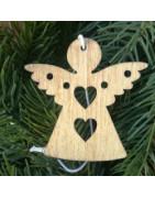 vianoce, vianočné, výrez z preglejky, závesná dekorácia